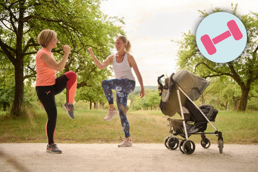 Kurs Fitness Outdoor Mütter Kind Buggy ~ Ernährung, Fitness, Beratung im Raum Frankfurt ~ Sarah Celine