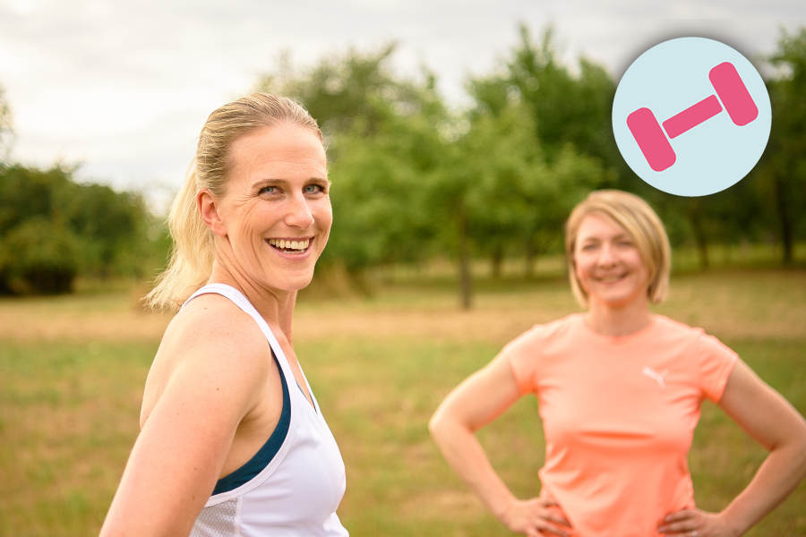 Kurs Fitness Personal Training ~ Ernährung, Fitness, Beratung im Raum Frankfurt ~ Sarah Celine