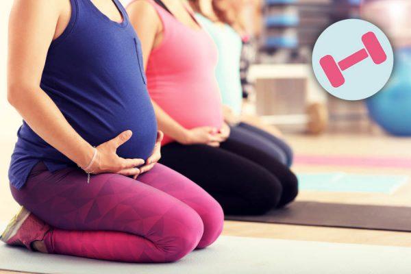 Kurs Fitness Schwangere Fit Babybauch ~ Ernährung, Fitness, Beratung im Raum Frankfurt ~ Sarah Celine