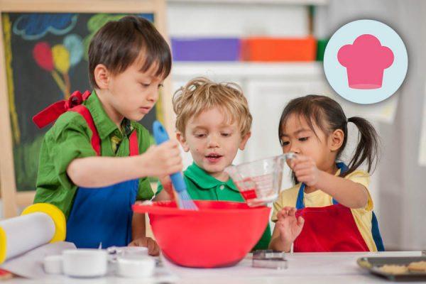 Kurs Kochkurs Kinder ab 6 Jahren ~ Ernährung, Fitness, Beratung im Raum Frankfurt ~ Sarah Celine